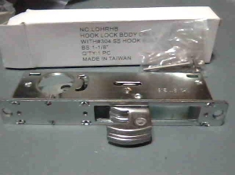 Mortise Hook Lock Body