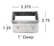 Handrail Wall Mount Bracket No. 737