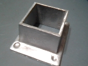 HR4 Square Floor Flange No. 40