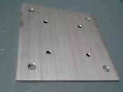 Fence Post Base Plate 6 inch square