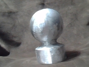 Flagpole Ball Top